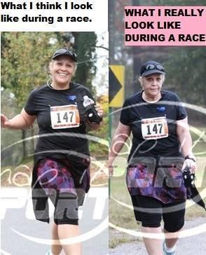 me in a race
