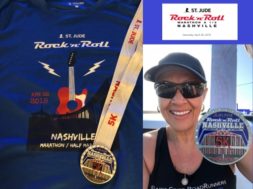2018 Rock Roll Nashville 5k