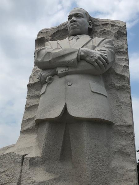 MLK visit